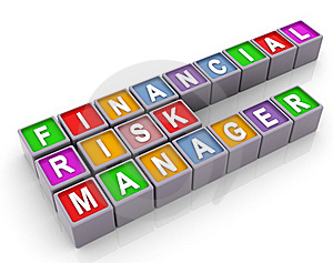 3d FRM - Financial Risk Manager Royalty Free Stock Photo - Image: 20733935