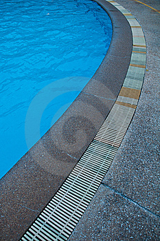 Swimming Pool Gutter Stock Image - Image: 20735501