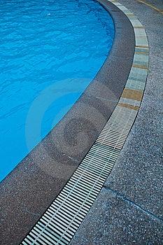 Swimming Pool Gutter Stock Image - Image: 20735501