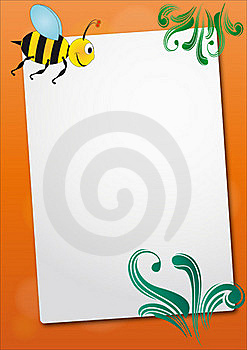 Bee Sheet Stock Photography - Image: 20735732