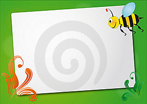 Bee Sheet Stock Image - Image: 20735741