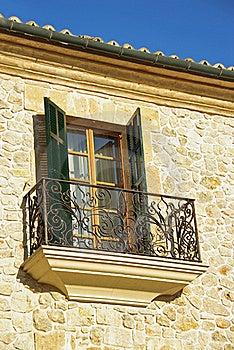 Mediterranean Window Stock Photo - Image: 20738590