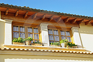 Mediterranean Window Stock Photography - Image: 20738612
