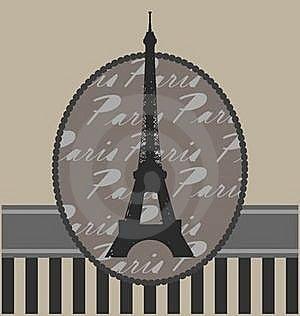 Background With Tour Eiffel Stock Photos - Image: 20743663