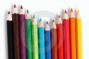 Color Pencils Royalty Free Stock Photography - Image: 20744617