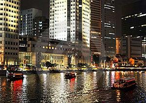 Singapore Embankment Stock Photo - Image: 20757050