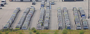 Rows Of Parked Cars Stock Photography - Image: 20764822