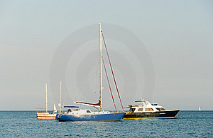 Yachts In Harbour Stock Photo - Image: 20766920