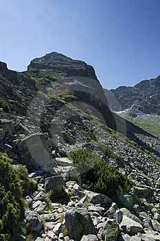 Path In The Mountains Royalty Free Stock Image - Image: 20767906