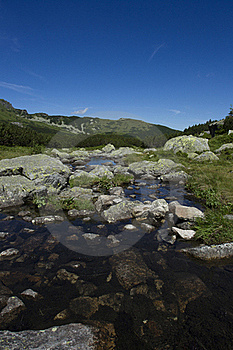 Lake In The Mountains Stock Images - Image: 20767974
