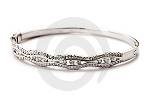 Diamond Bracelet Stock Photo - Image: 20774520