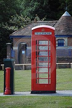 An Ols English Telephone Box Stock Images - Image: 20775264