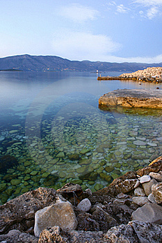 Sea Coast In The Morning Royalty Free Stock Images - Image: 20775829