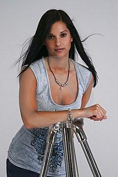 Brunette Portrait Royalty Free Stock Photography - Image: 20779217