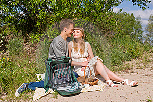 Portrait Of Love In Nature Stock Photos - Image: 20779523