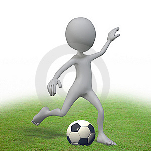 Playing Football Stock Images - Image: 20780804