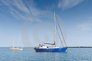 Yachts In Harbour Royalty Free Stock Image - Image: 20782216