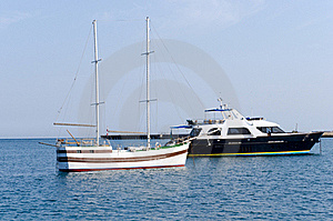Yachts In Harbour Stock Photo - Image: 20782220