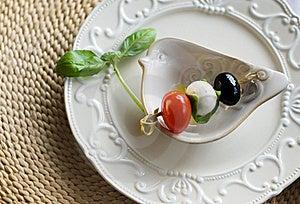 Mozzarella And Tomato Stock Images - Image: 20783354