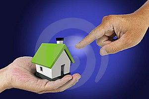 Hand Select House Stock Photos - Image: 20784283