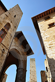 Ancient Towers Stock Photography - Image: 20785652