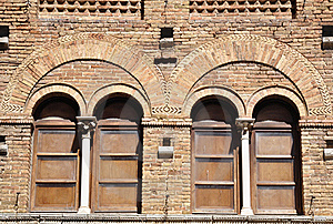 Medieval Windows Royalty Free Stock Photography - Image: 20785887