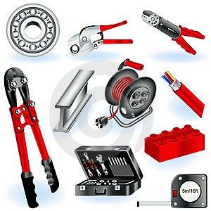 Construction Icons 6 Stock Image - Image: 20785911