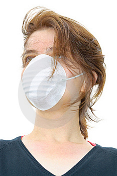 Girl With Mask Royalty Free Stock Images - Image: 20791239