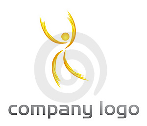 People  Vector Logo - Fire Shape Stock Photos - Image: 20792983