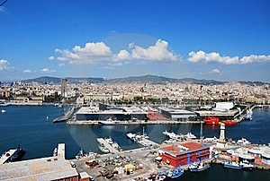 City On The Sea Royalty Free Stock Image - Image: 20795276
