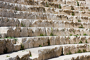 Steps At An Amphitheatre Stock Photos - Image: 20796163
