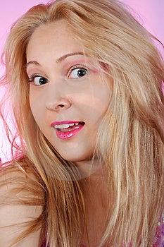 Amazed Girl Stock Images - Image: 2082144