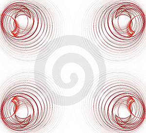 Border/Business Graphic - Red Graphic Royalty Free Stock Images - Image: 2082249
