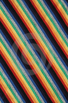 Colorful Striped Fabric Background Stock Images - Image: 2083154