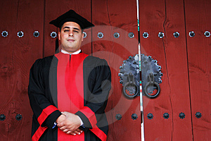 Finally Graduation Day Arrives. Stock Image - Image: 2086311