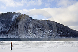 River Angara Near Lake Baikal Royalty Free Stock Photo - Image: 2087495