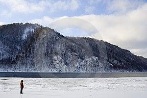River Angara Near Lake Baikal Royalty Free Stock Photo - Image: 2087495