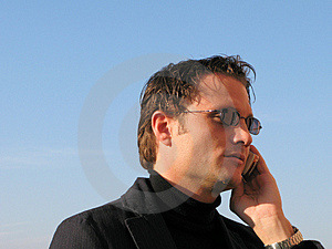 Phone call Stock Photography