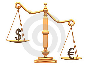 Difference Between The Currencies Stock Photo - Image: 20810590