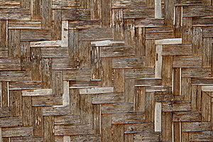 Bamboo Wicker Wall Stock Images - Image: 20813404