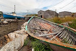 Fishing Village, Nova Scotia Stock Photos - Image: 20814923