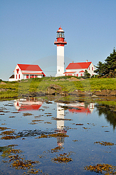 Pointe De Mitis Lighthouse, Quebec Stock Photos - Image: 20819703