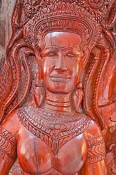 Native Thai Style Wood Carving Stock Images - Image: 20829174