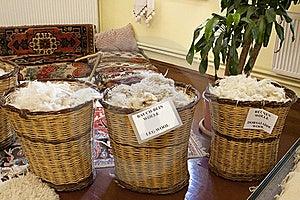 Basket Of Wool Stock Photos - Image: 20829823