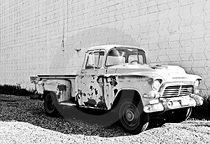 Classic Truck Royalty Free Stock Image - Image: 20830416