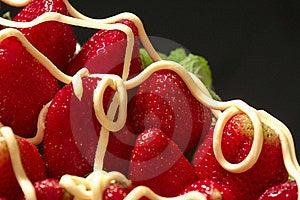 Strawberries And Cream Stock Photo - Image: 20834260