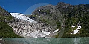 Norwegian Glacier Stock Images - Image: 20836924