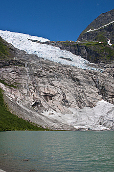 Norwegian Glacier Royalty Free Stock Photography - Image: 20836957