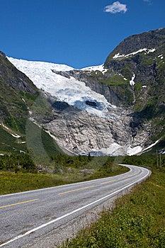 Norwegian Glacier Stock Image - Image: 20836981