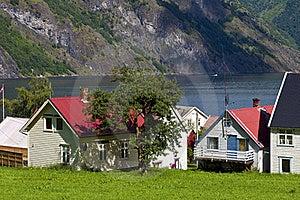 Norwegian Village Royalty Free Stock Image - Image: 20837146
